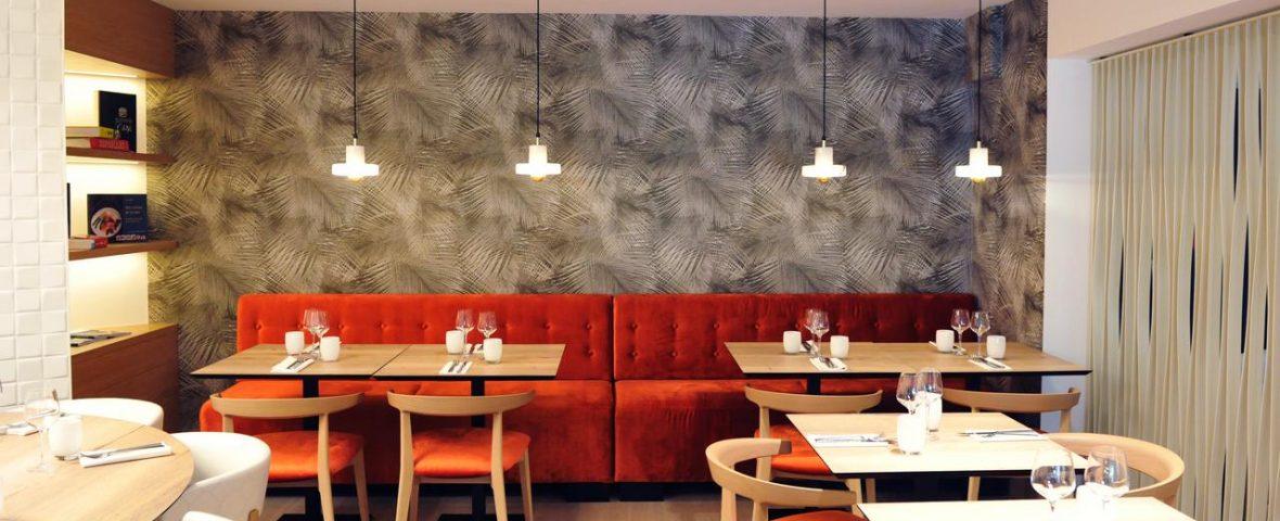 décoration Brasserie Bleue