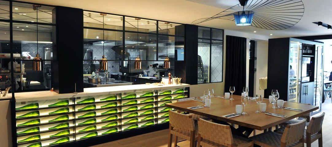 intérieur Brasserie Bleue